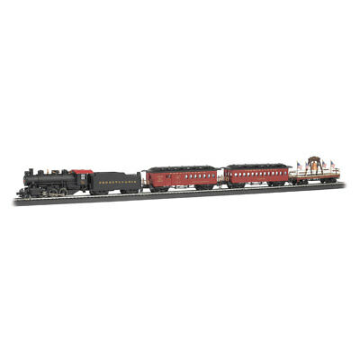 Bachmann Trains HO Scale Liberty Bell Special Electric Train w/ Track Play Set