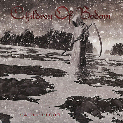 Children of Bodom - Halo of Blood (2013)  Limited Edition Silver Vinyl LP  NEW