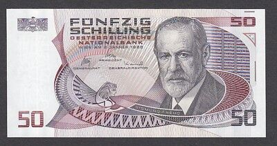 50 Schilling From Austria 1986 A7 Unc