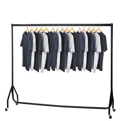 HEAVY DUTY CLOTHES RAIL GARMENT RACK HOME STORAGE DISPLAY 2ft 3ft 4ft 5ft 6ft