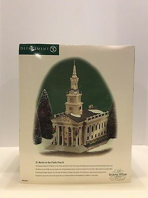 Department 56 The Dickens' Village Series St. Martin-in-the-Fields Church