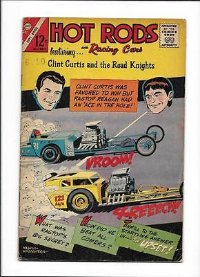 """Hot Rods & Racing Cars #77  [1965 Vg+]  """"the Upset"""""""
