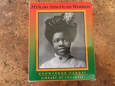 African American Women Catalog Cards. 48 Cards