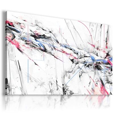 PAINTING SPLASH ABSTRACT PRINT Canvas Wall Art Abstract Picture  AB312 MATAGA .
