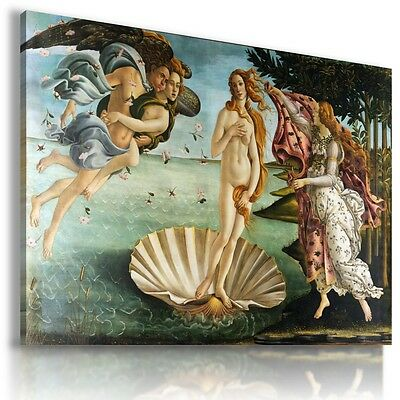PAINTING The Birth of Venus by Sandro Botticelli Print Canvas Wall Art MATAGA .
