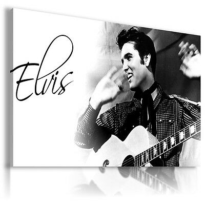 ELVIS PRESLEY  The King Of Rock /& Roll   Canvas Wall Art Picture  EP50  MATAGA .