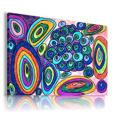 Paint Peacock Abstract Print Canvas Wall Art Picture Large Sizes Ab780 X Mataga