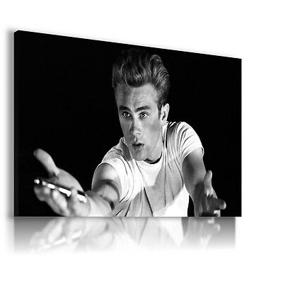 JAMES DEAN AMERICAN ACTOR  Canvas Wall Art Picture Large Sizes   JD19  MATAGA .