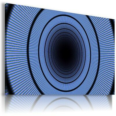 COLORFUL SPIRAL CIRCLES MODERN DESIGN Canvas Wall Art Picture  AB616  MATAGA