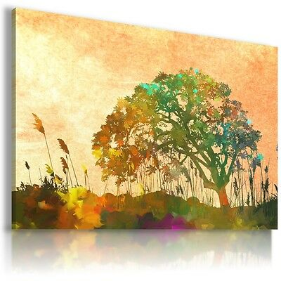 Painting Tree Of Life Abstract Print Canvas Wall Art Picture Ab690 X  Mataga .