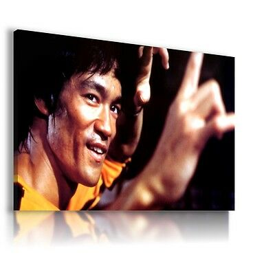BRUCE LEE Martial Arts Instructor Philosopher Canvas Wall Art Picture BL1 MATAGA