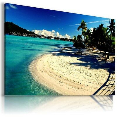SUNSET BEACH SEA PERFECT View Canvas Wall Art Picture Large SIZES  L268   MATAGA