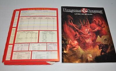 DUNGEONS & DRAGONS French Game Instruction BOOK D&D