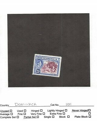 Lot of 43 Dominica Mint Never Hinged Stamps #106357 X