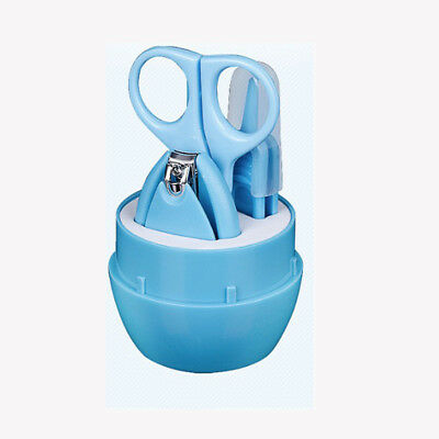 4pcs Child Baby Newborn Infant Finger Toe Nail Clipper Cutter Safety Manicure