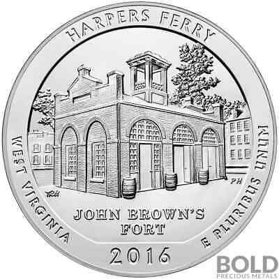 2016 Silver 5 oz ATB Harper's Ferry, West Virginia