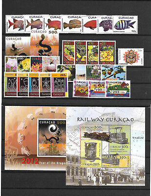 Curacao @ Year 2012 Complete   Sets Mnh  @wv 2369