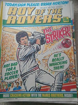 Roy of the Rovers 17th July 1982 Combined Postage Offered For Multiple Buys