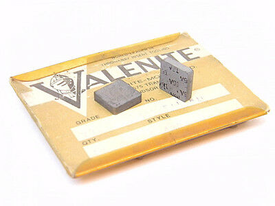 New Surplus 10Pcs. Valenite  Sng 422  Grade: V91 Carbide Inserts