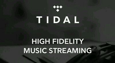 Tidal 180 Days 6 Months Hifi Account (WorldWide)