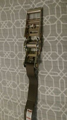 Brand New US Military Kinedyne Ratchet Strap Assembly 6ft Length, 3750lb Rated