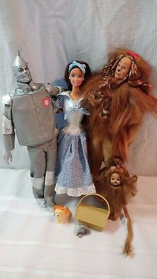Lot of 4 Wizard of Oz Dolls