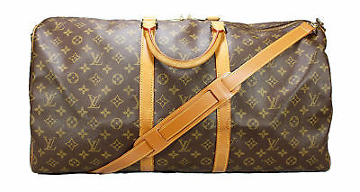 Leather Shoulder Strap Replacement fits LV Keepall Bandouliere Duffle Travel Bag