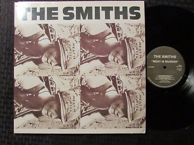 2009 The Smiths ‎– Meat Is Murder LP RE RM 180g EX/EX Rhino Records R1 520965