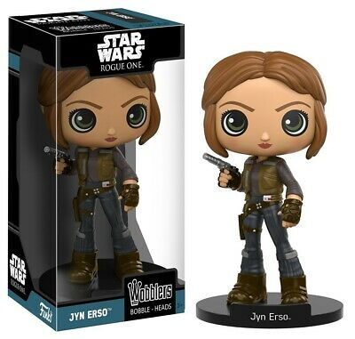 Funko - Wobbler: Star Wars Rogue One - Jyn Erso Action Figure