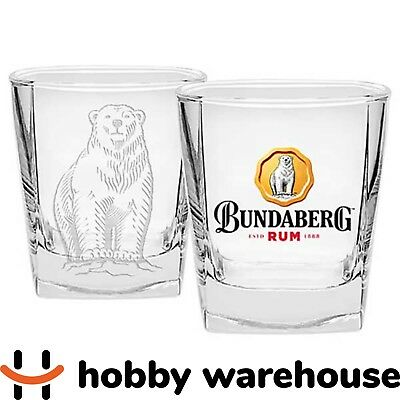 Bundaberg Rum Bear Set of 2 Spirit Glasses
