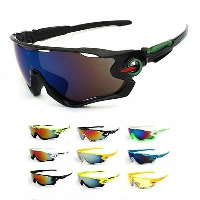 New UV400 Cycling Eyewear Sports Glasses Men