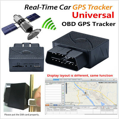 Mini OBD II OBD2 Car SPY GSM GPRS GPS Tracker Real Time Tracking Locator Device