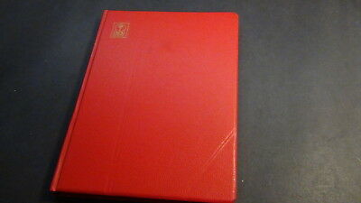 Luxembourg stamp collection in Alger red stock book w/mnh