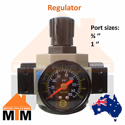 Regulator for Pneumatic systems Air Compressors Airline Larger Ports R