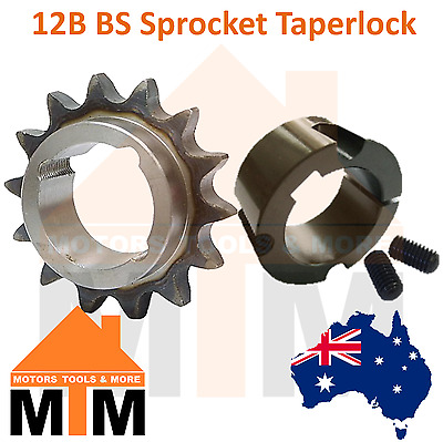 12B BS Sprocket Taperlock Any Bore Size