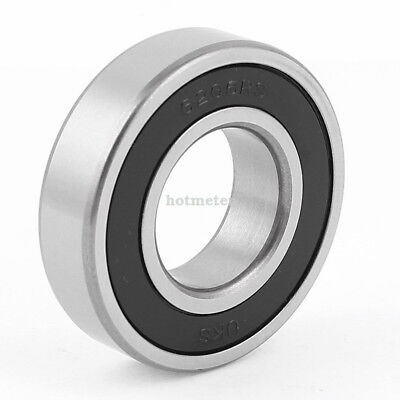 6206RS Metal Deep Groove Sealed Shielded Ball Bearing