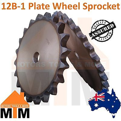 12B - 1 Plate Wheel Sprocket Any Teeth Amount
