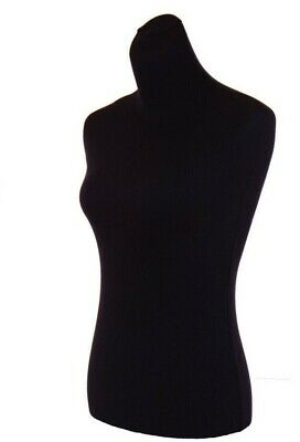 2 Female mannequin torso's covers to renew dress form, size S ~M,2 black Jerseys