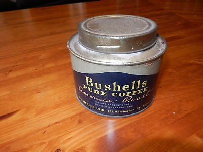 Vintage Bushells Pure Coffee Tin
