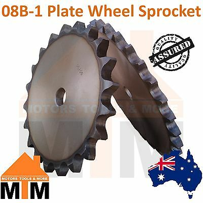 08B 1 Plate Wheel Sprocket Any Teeth Amount
