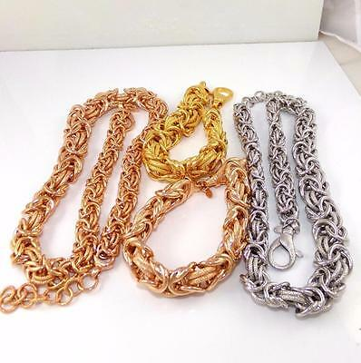 Italy Graduated Byzantine Costume Lot of Necklaces and Bracelets 4 Items QX