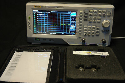 Rigol  DSA815  9khz to 3 gig with tracking gen and SWR Bridge