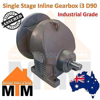 Type 1R57 Gearbox Helical Inline Gearbox Reducer i3 D90B5 Ratio 1:3 Reduction