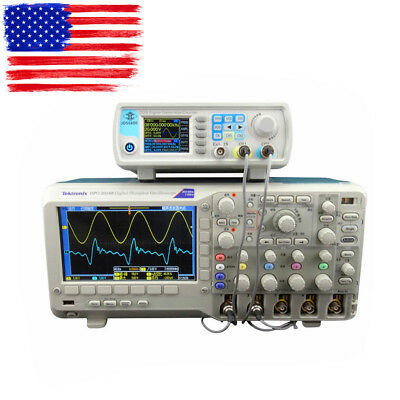 RD JDS6600 Series 15MHZ Digital Control Dual-channel DDS Signal Generator In USA