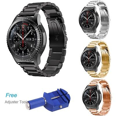 Stainless Steel Watch Bracelet Metal Strap for Samsung Gear S3 Frontier Classic