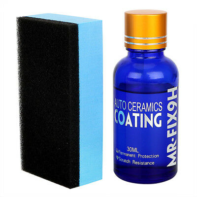 30ML Car Super Hydrophobic Glass Coating Car Liquid Ceramic Coat Auto Paint Care