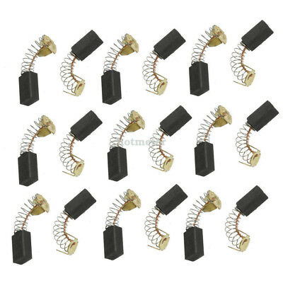 "10 Pairs Replacement 10/16"" x 3/8"" x 1/4"" Motor Carbon Brushes"