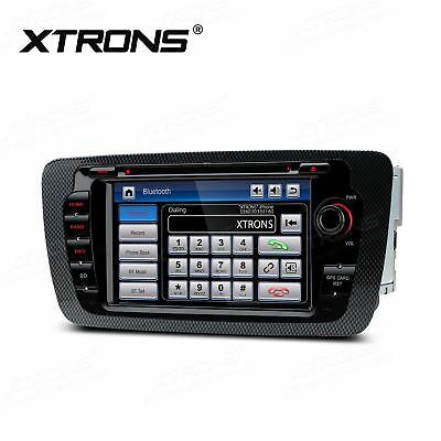 "7"" GPS SAT NAV In Car DVD Player Head Unit Stereo Radio for Seat Ibiza 2009-2013"