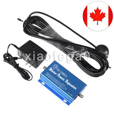 GSM900MHz Cell Phone Signal Repeater Booster Amplifier with Antenna 32ft Canada