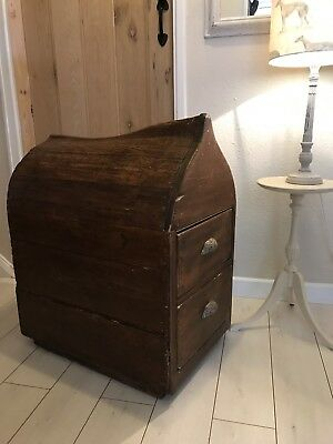 Antique Victorian Pine Saddle Horse With Drawers